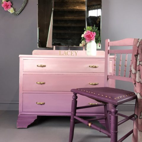 Posh Chalk Interiors Pink dresser