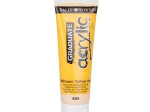 Graduate Acrylic Cadmium yellow hue