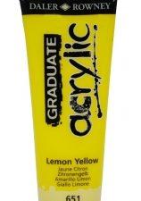 Graduate Acrylic Lemon Yellow