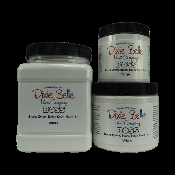 Dixie Belle BOSS White