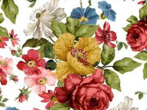 Wall Flower Transfer IOD