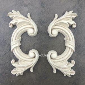 WoodUbend applique moulding pair