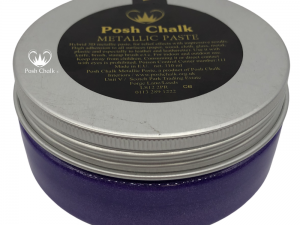 Posh Chalk Metallic Paste in Violet